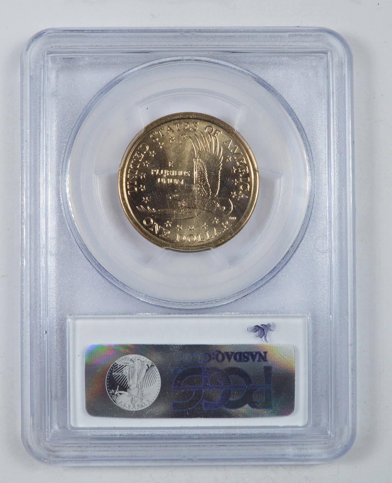 2000-D Sacagawea Dollar PCGS MS66 Millennium Set