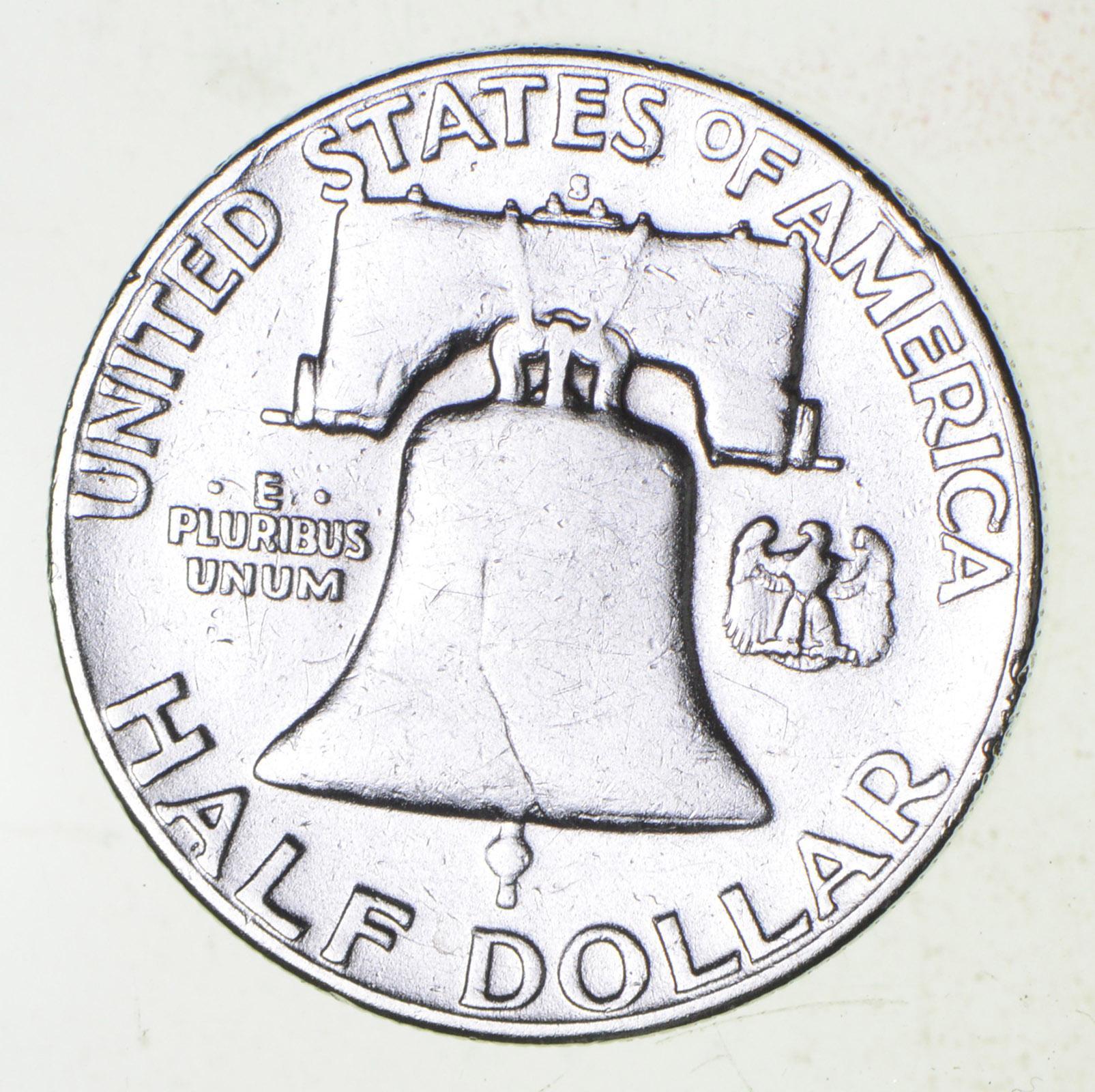 higher grade 1953 s rare franklin half dollar 90 silver coin 1953 Franklin Half Dollar PF68 higher grade 1953 s rare franklin half dollar 90 silver coin