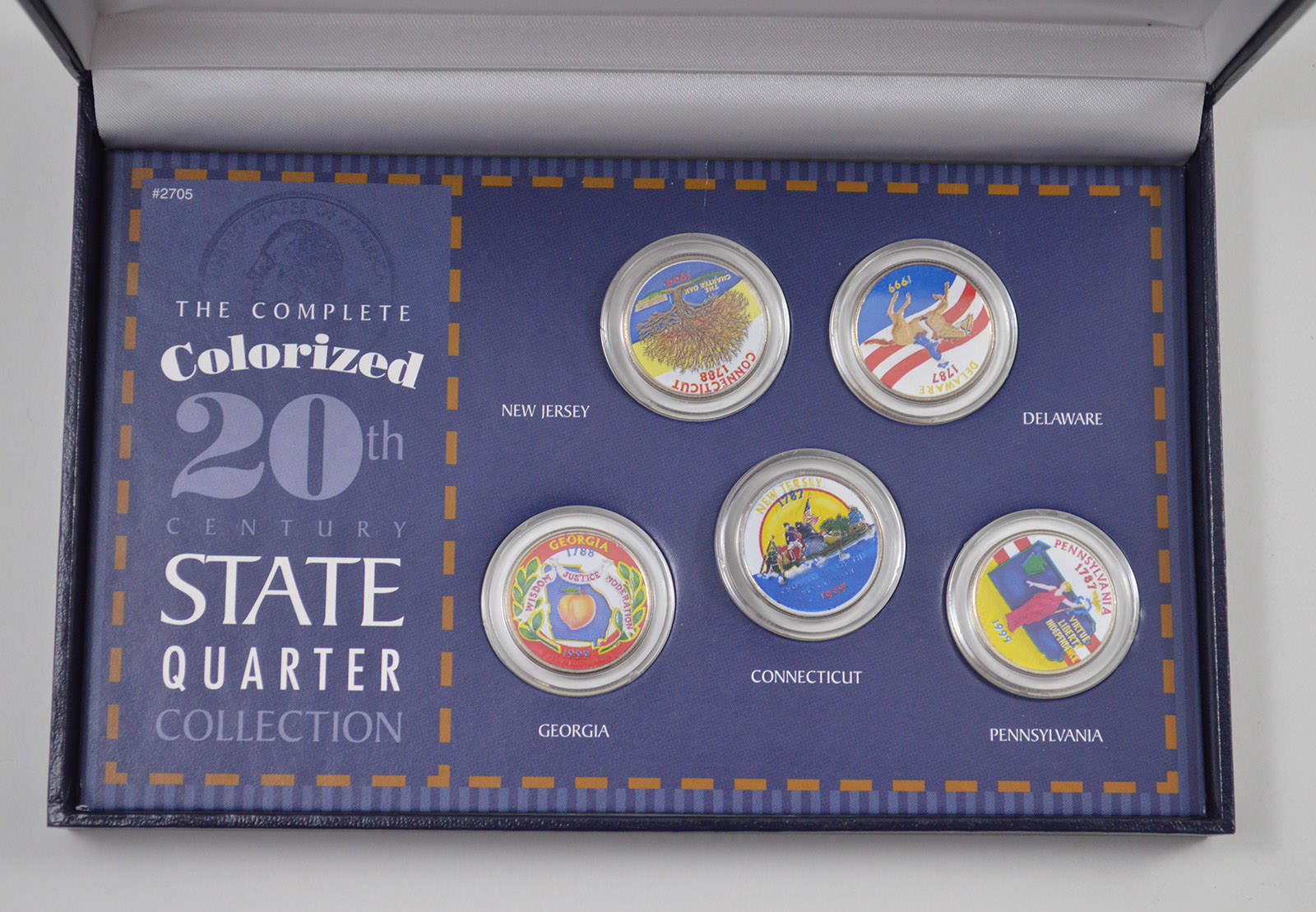 US Colorized State Quarters 20th Century