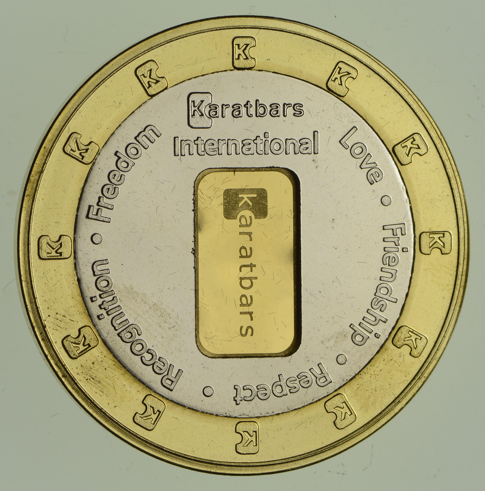 Karatbars International 1 Gram 999 Fine Gold Bar In