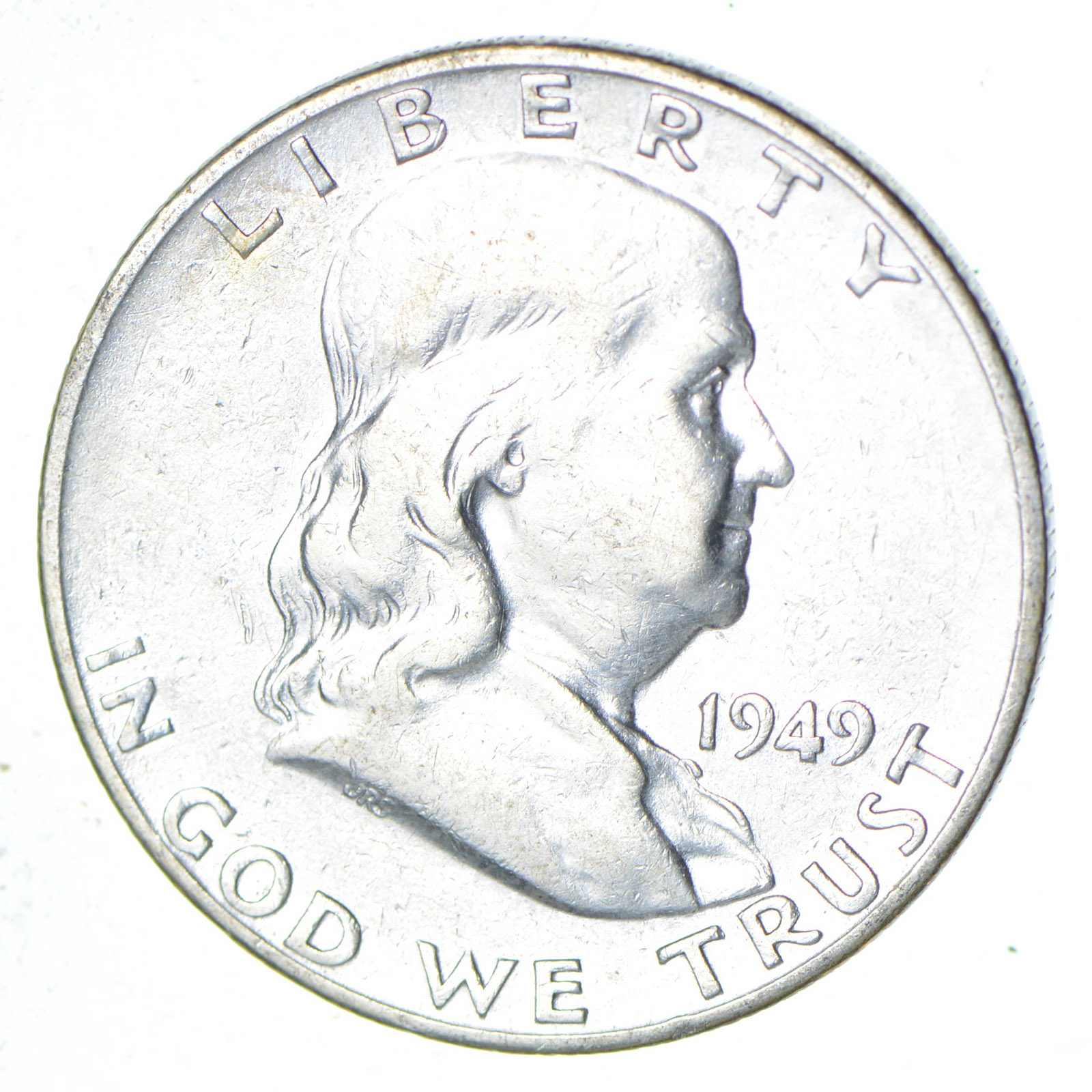 lowest mintage 1949 s franklin half dollar tough to find 90 1947 Half Dollar lowest mintage 1949 s franklin half dollar tough to find 90 silver