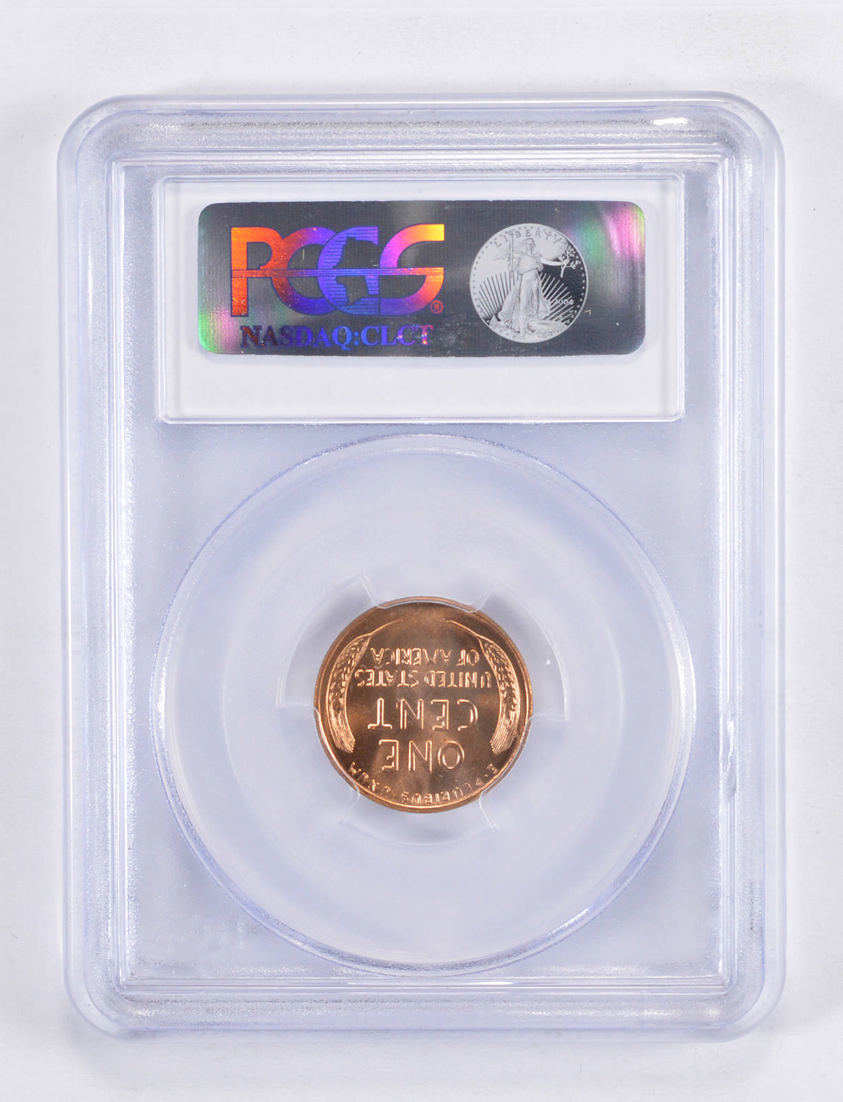 MS65 RD 1958-D Lincoln Wheat Cent - Graded PCGS   Property Room
