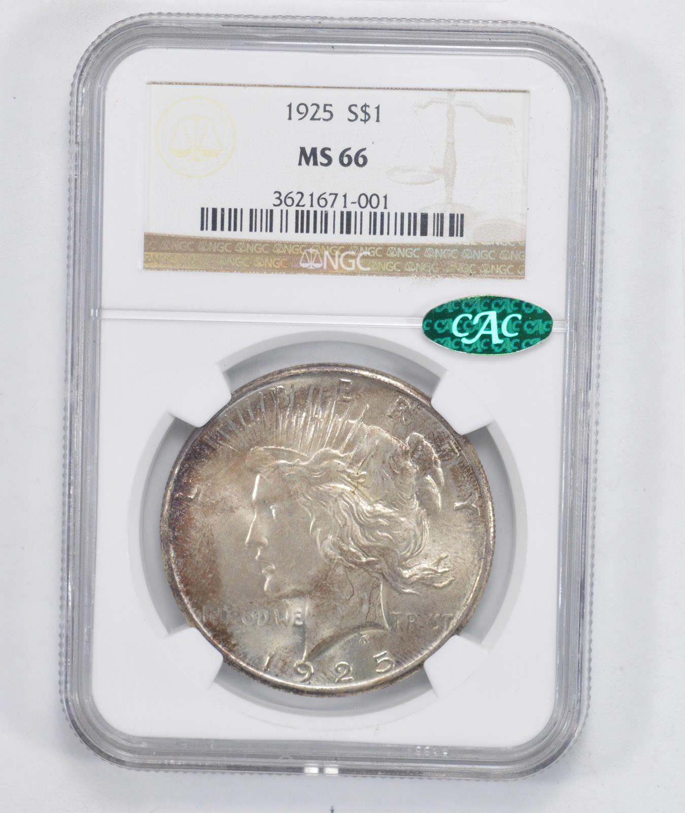1925 silver dollar value