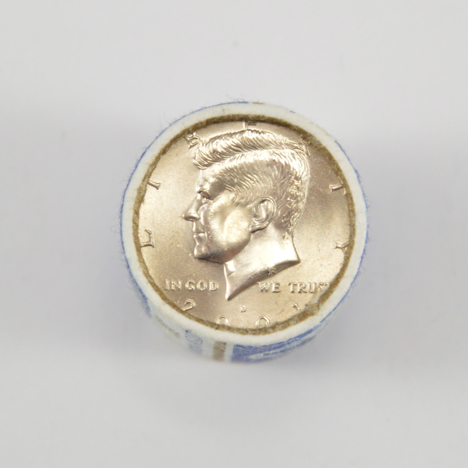 Kennedy Half Dollars 2001-P and 2001-D from Mint Rolls