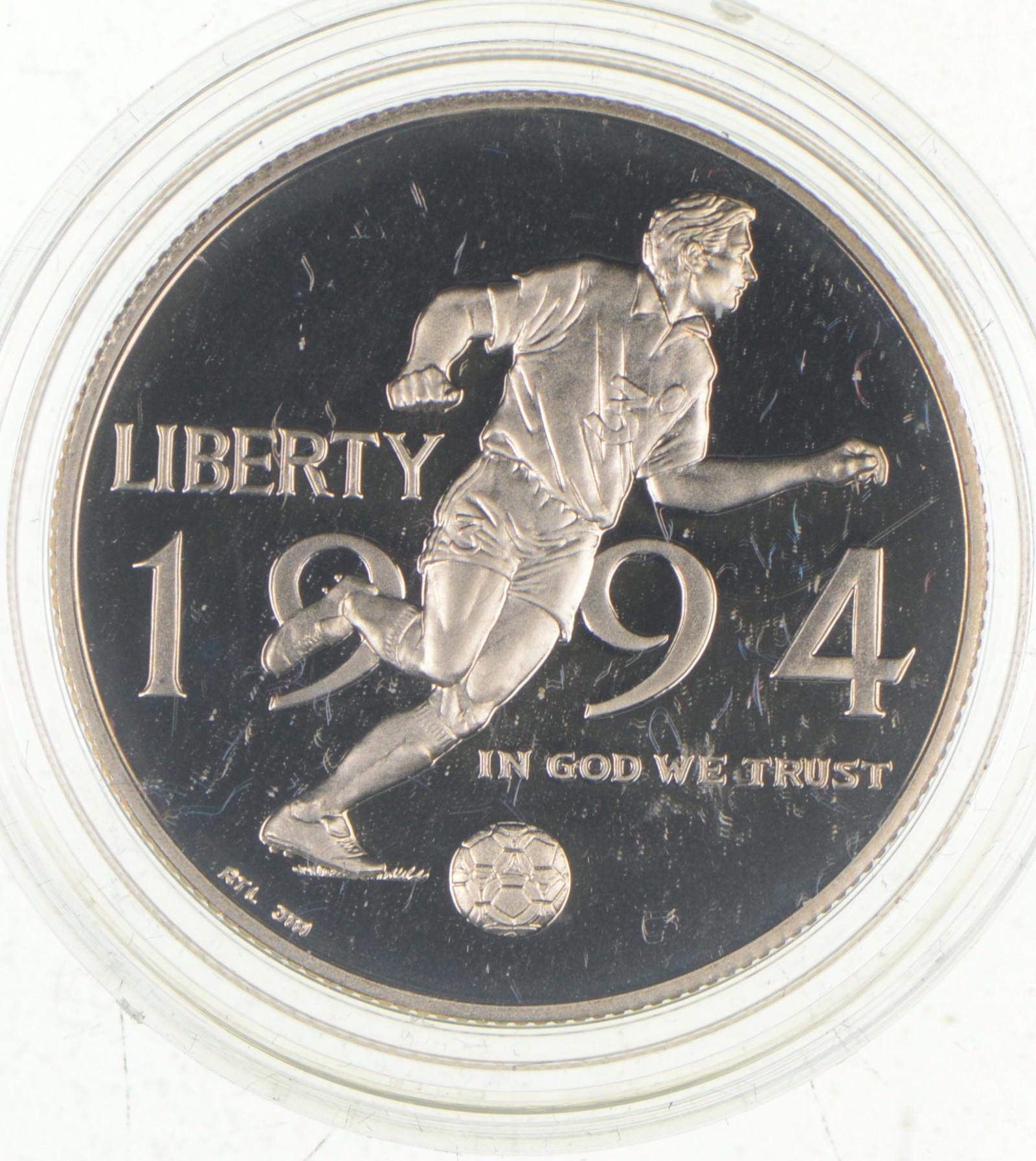 1994-P US World Cup Commemorative Proof Half Dollar