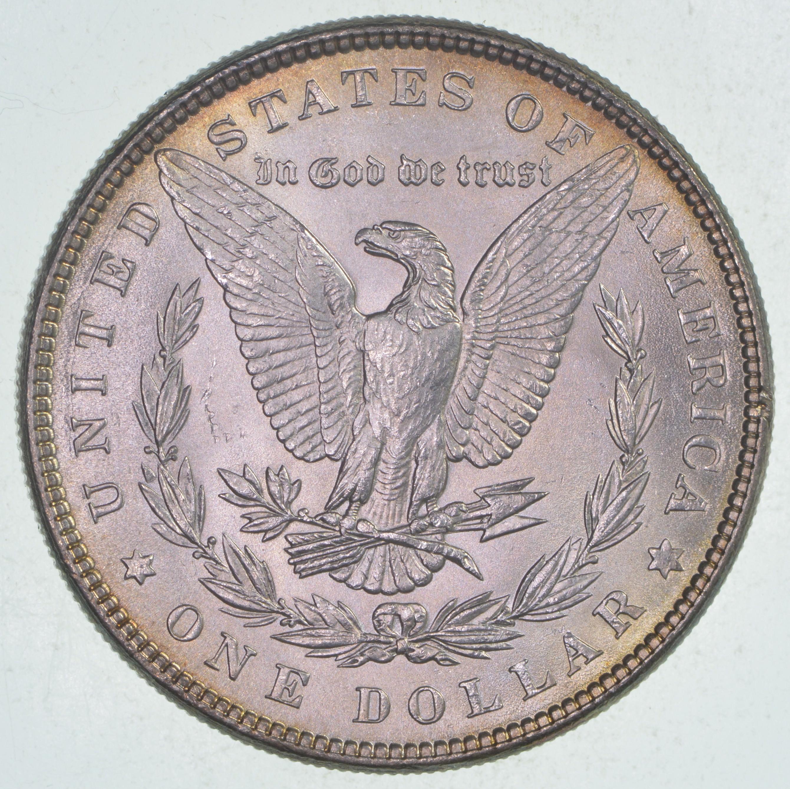 1885 silver dollar o