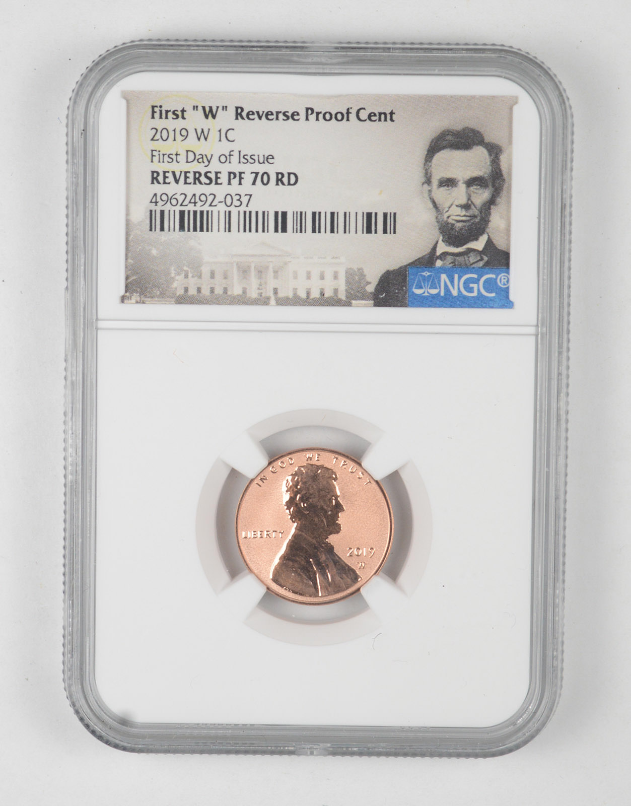2019 S 1C Lincoln Cent PCGS PR70DCAM First Day of Issue FDOI