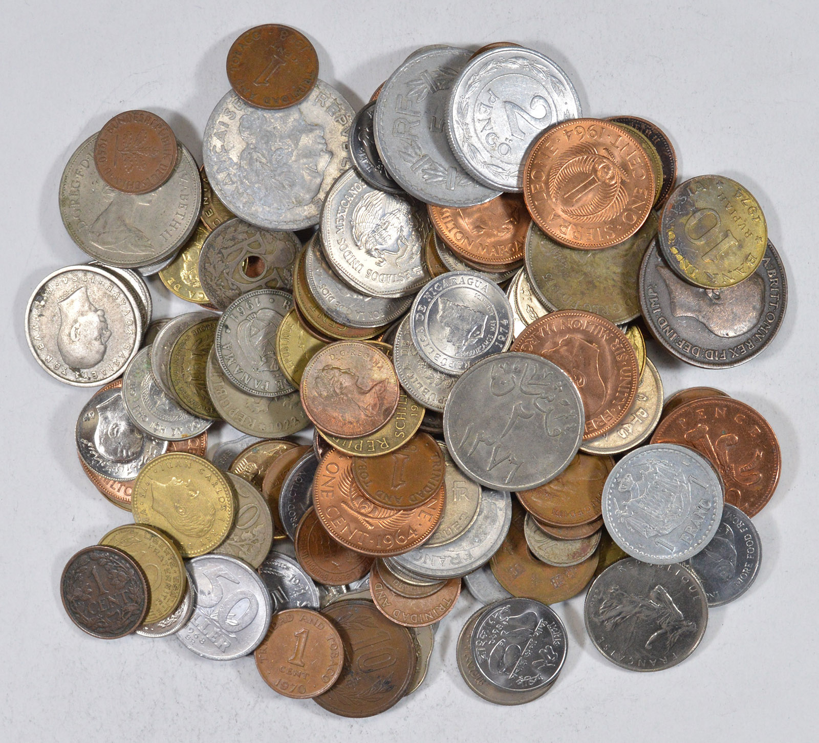 1//4 Pound Mixed World Coin Lot