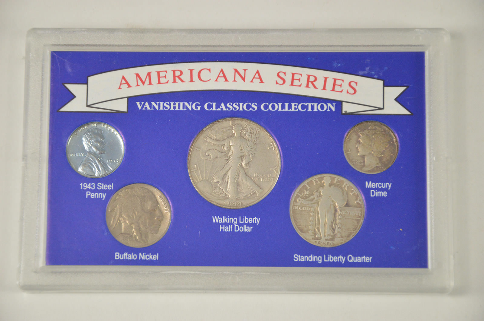 SILVER Coin Set Americana Series - Vanishing Classics