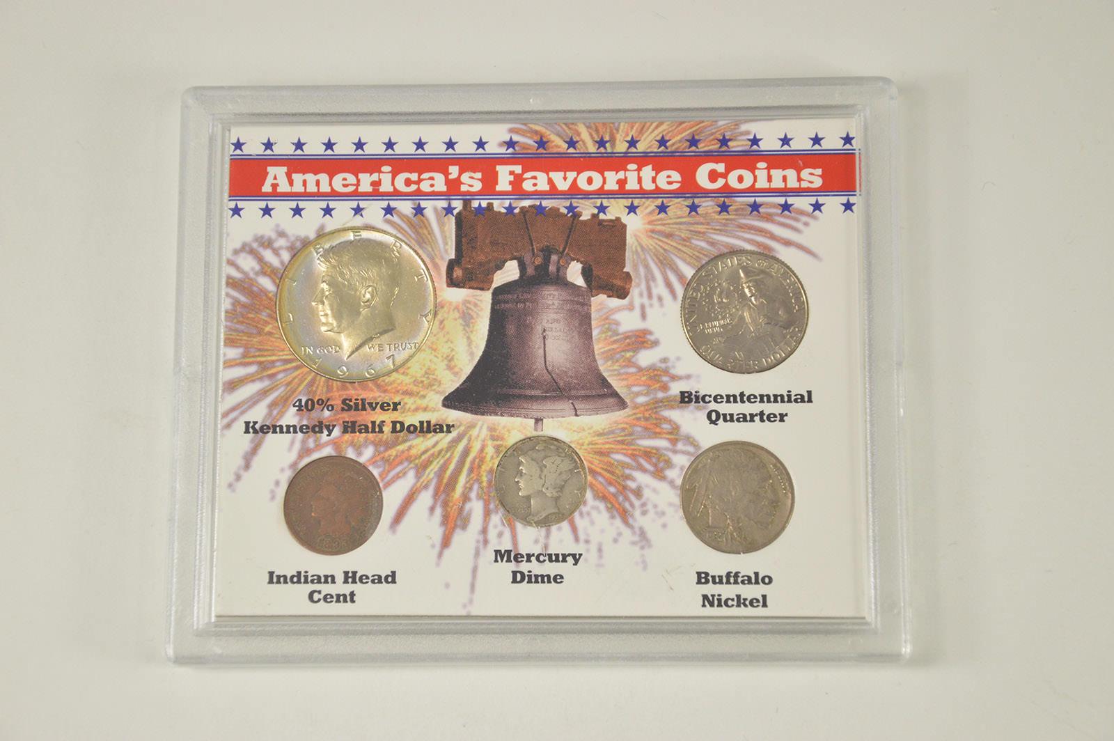 americas favorite coins