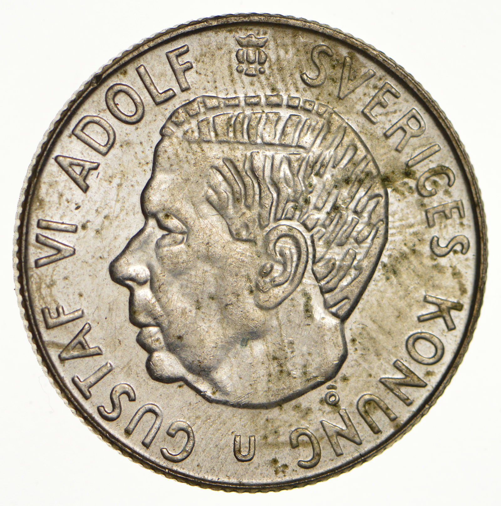SILVER - Roughly the Size of a Quarter - 1963 Sweden 1 ...