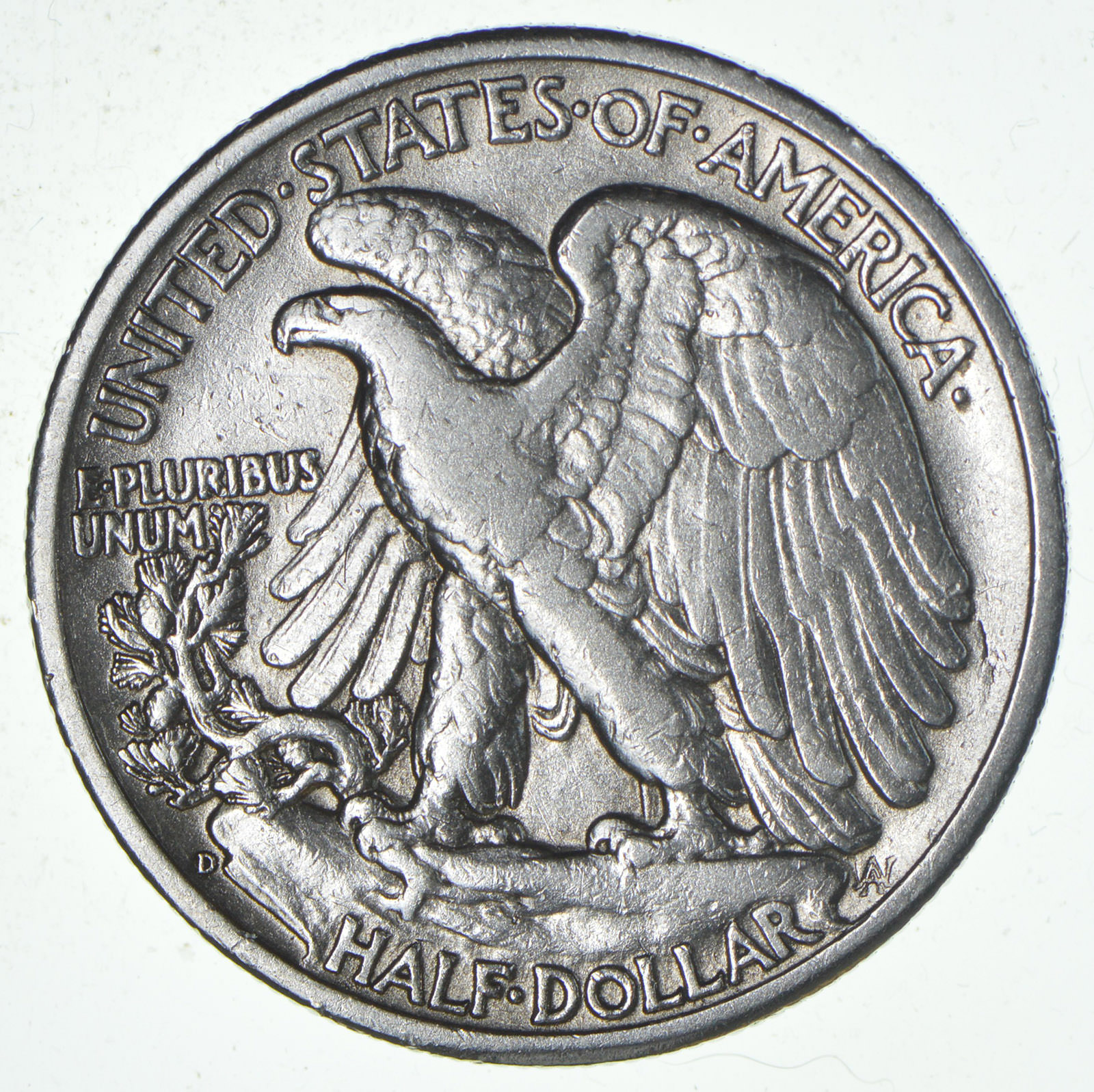 strong feather details 1944 d walking liberty half dollar Grading Silver Dollars strong feather details 1944 d walking liberty half dollar