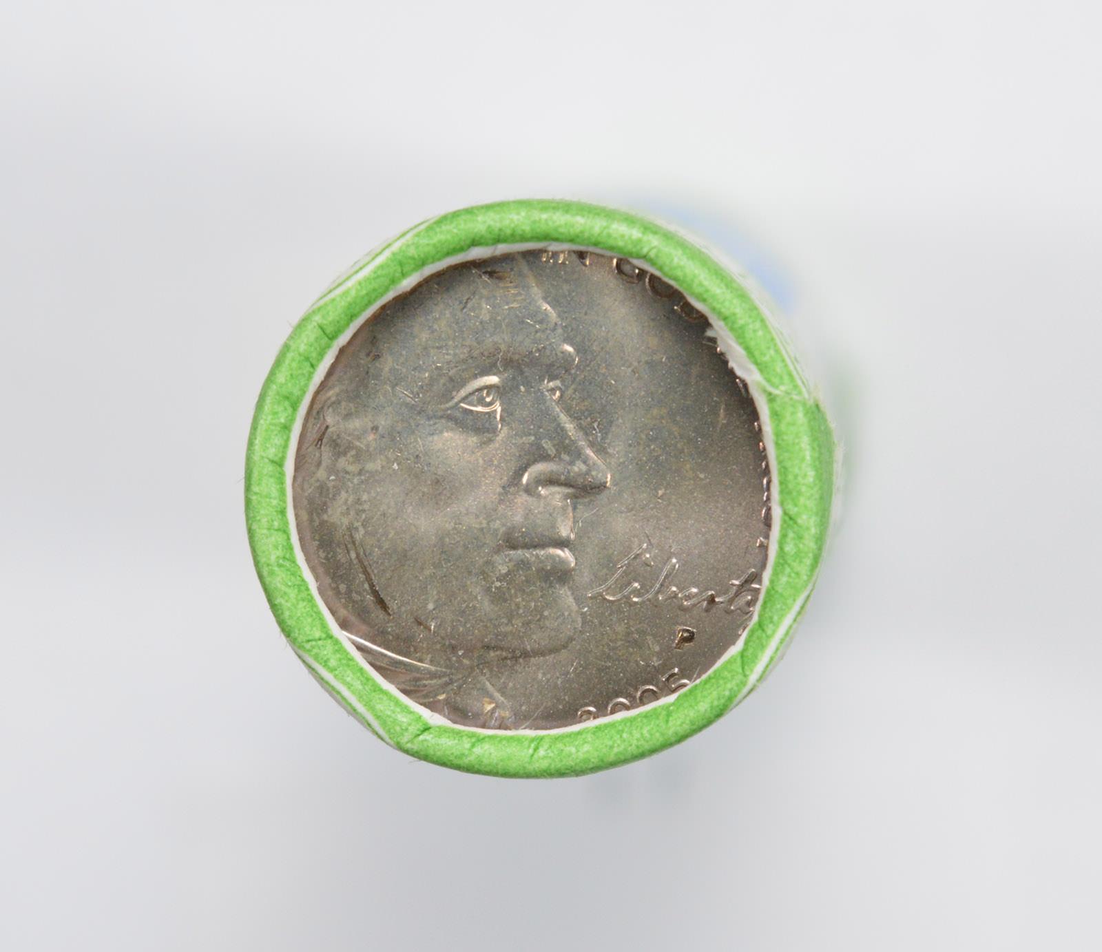1960 D Jefferson Nickel 40 Coin Roll