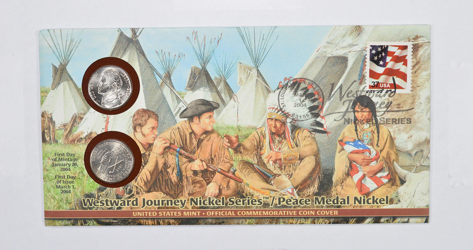 Image 1 Of 2 Westward Journey Nickel Series