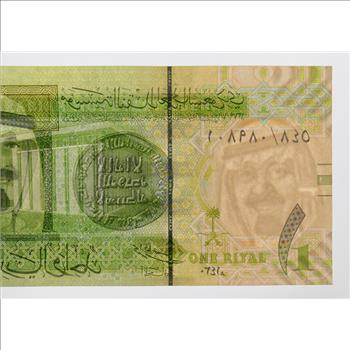 1 Saudi Riyal Note Great Way To Invest In Currency Foreign