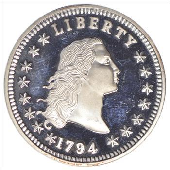 1794  LIBERTY  1oz Copper Round Coin