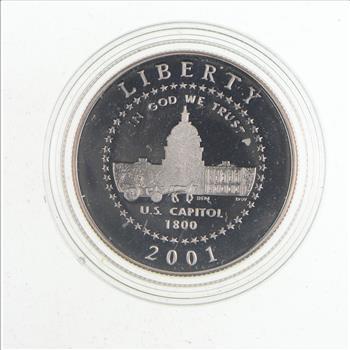 Coins & Paper Money PCGS PR69 DCAM 2001-P US Capitol Visitor ...