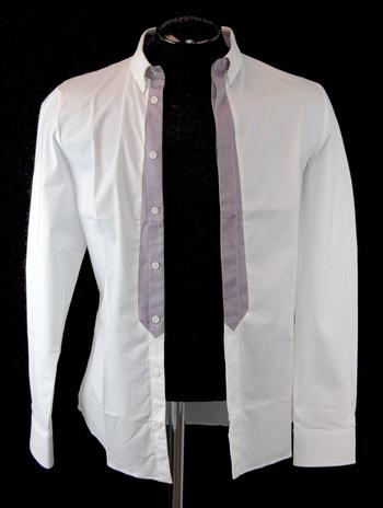 FRANKIE MORELLO MILAN Men's Long Sleeve Shirt - Size S - Retail $350.00
