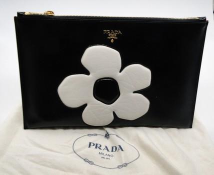 Prada ipad & Carry All Clutch (Limited Edition)  Bag Retail $975.00