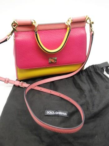 Dolce & Gabbana Sicily Shoulder Bag Retail $1,795.00