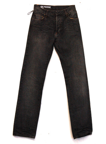 New GF FERRE Refined Men's Jeans -Size 32/46- Store Retail $360.00