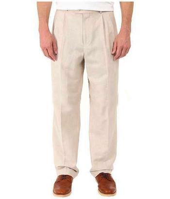 Men's Designer VERSACE Linen Pants - Size 48/32 - Retail $399.00
