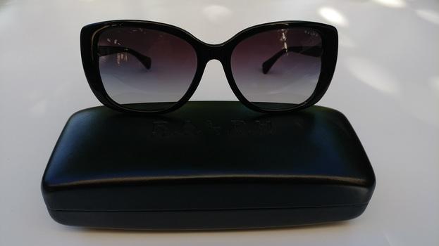 Ralph Lauren Black Butterfly Sunglasses
