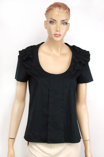 Women's Italian Designer VALENTINO Cotton Top - Size 4 US - Retail $225.00