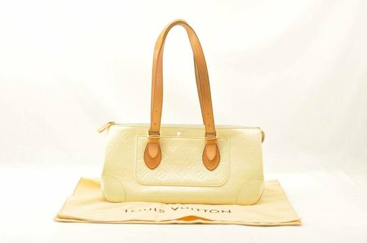 Louis Vuitton Vernis Avenue HandBag Canary Pearl MSRP $2799