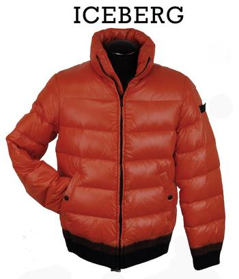 ICEBERG Men's Italian Designer Goose Down Puffer Jacket - Size M/L - Retail $1,100.00