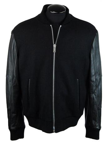 ICEBERG Men's Italian Designer Bomber Jacket - Size L - Retail $1,995.00