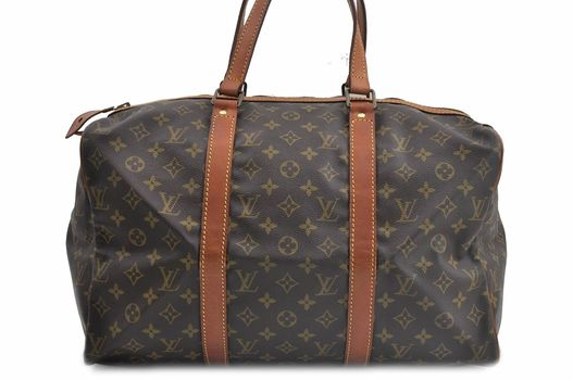 Louis Vuitton Monogram Sac Souple 45 Handbag Boston Bag 85 MSRP $3499