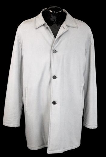Men's Designer SAMSONITE 3/4 Length Coat - Size L - $399.00 Retail Value