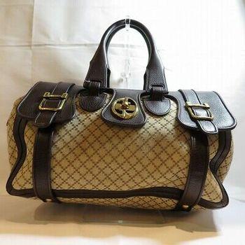 GUCCI Leather HandBag Boston MSRP $2599