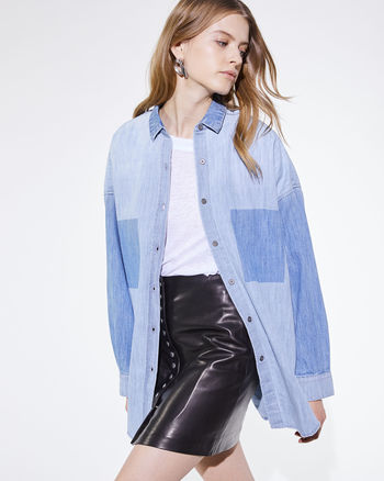 IRO Paris Alysa Shirt Sz Small Medium Retail $305.00