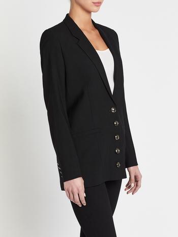 IRO Paris Nico Blazer in Black Small Medium Retail $789.00