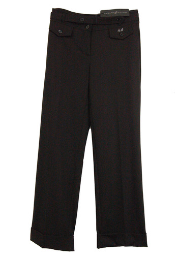 HAZARD COUTURE Women's Casual Summer Pants- Size 38(EU) - Retail $295.00