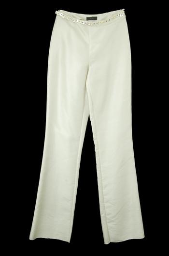 Women's Designer GIGLI Silk Pants - Size 36(EU) - Retail $395.00