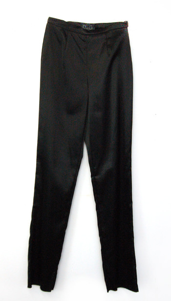 Women's Designer D&G Silk Pants - Size 28/42(EU) - Retail $395.00