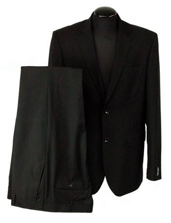 Men's Designer ENRICO RICCI 2 Piece Suit - Size 46R - Retail $449.00