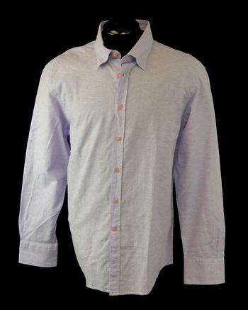 FRANKIE MORELLO MILAN Men's Long Sleeve Shirt - Size L - Retail $395.00