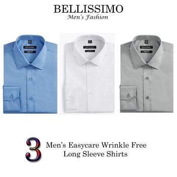 "BELLISSIMO Designer Dress Shirts 6 Pieces - Size 15.0"" R - $420.00 Retail"