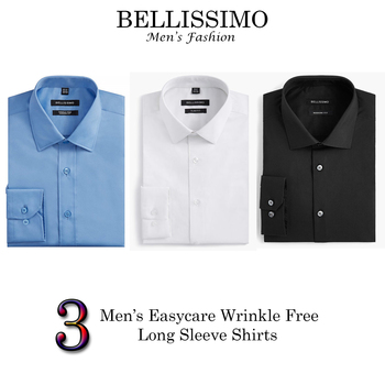 "BELLISSIMO Designer Dress Shirts 3 Pieces - Size 15.5"" T - $210.00 Retail"