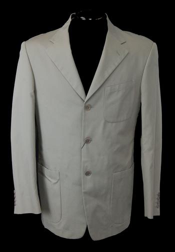 NEW Men's Designer GARRETT'S Cotton Jacket - Size 40 - Retail $599.00