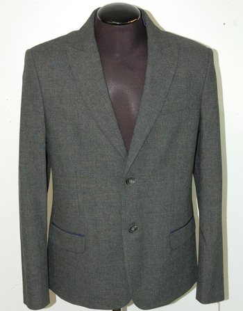 ICEBERG Men's Wool Blend Blazer - Size L/XL - Retail $1,295.00
