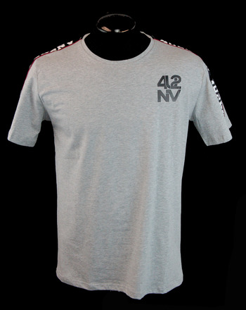 4U2NV Men's Italian Designer T-Shirt - Size L - Retail $250.00