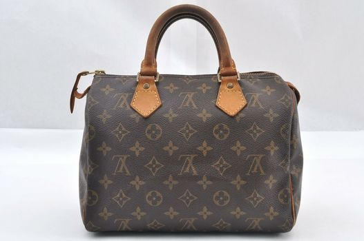 Louis Vuitton Monogram Speedy 25 Hand Bag MSRP $2499