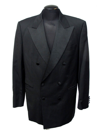 Karl Lagerfeld Men's Paris Designer Tuxedo Jacket Sz 42