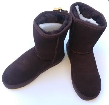 AUABP Australia Choco Boots - Size 5