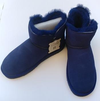 AUABP Australia Blue Boots - Size 8